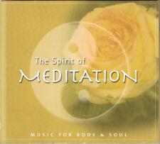CD The Spirit of Meditation. Music for Body & Soul - Digipack