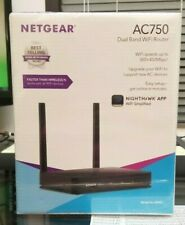 Netgear AC750 Dual Band Wifi Router Spees up to 300+450Mbps Model R6020