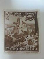 """1938 - Mi.Nr. 675 - 3 Pf - """"Ostmarklandschaften+Alpenblumen"""" - ungebr. m. Falzr."""