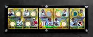 2020 Triple Threads Deca Relic Booklet Ruth Williams Clemente Trout Griffey #/5