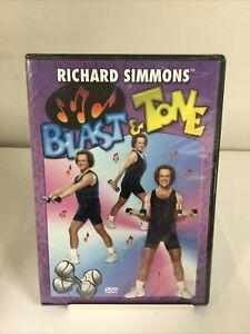 Richard Simmons Blast & Tone DVD - New/Sealed