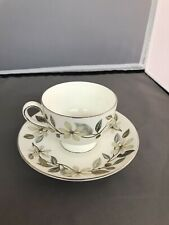 Vintage Wedgwood Bone China Beaconsfield W4281 Teacup & Saucer Made in England
