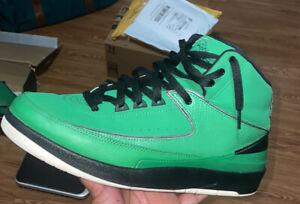 Size 9 - Jordan 2 Retro QF Candy Green 2010 395709-301