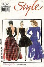 1980's VTG Style Misses' Evening Dress Pattern 1462 Size 6-10 UNCUT
