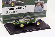 Altaya 1/43 1963 Jim Clark Lotus 25 #4 World Champion Formula 1 Model