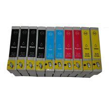 10 Druckerpatronen für Epson Stylus d78 DX5000 DX4400 DX4450 SX200 SX200W SX215