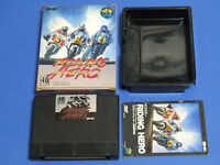 SNK Neo Geo AES RIDING HERO Carton Box Import Japan