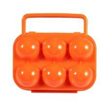HU Portable Porte-oeufs / Boite a Oeufs en Plastique pour Camping et Pique-nique