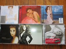 Bulk  Celine Dion x 6 Taking chances One Heart & More CD's