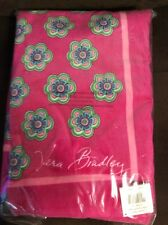 VERA BRADLEY PINK SWIRLS FLOWERS BEACH TOWEL