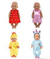 Puppenkleidung Baby Born kompatibel für Puppen (43cm) Sister Konvolut Set Neu