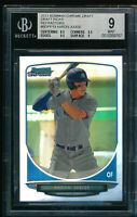 BGS 9 AARON JUDGE 1st 2013 Bowman Chrome Draft REFRACTOR Rookie Card RC ROY MINT