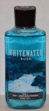 Bath & Body Works Whitewater Rush Mens Shower Gel 2in1 Hair Wash 10 fl oz NEW