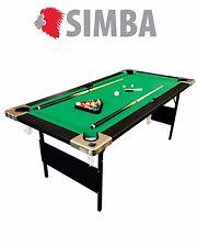 6 FT Pool Table Folding Billiard Indoor Sports Mod. Aladin Snooker Solid