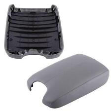 Armrest Cover Lid For Honda Accord 2008-2012 Gray PU Leather Center Console New