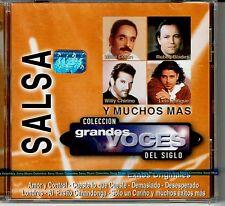 Salsa Coleccion Grandes Voces del Siglo   BRAND  NEW SEALED  CD