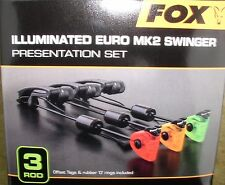 3 Fox Illuminated Euro MK2 Swinger  rot/gelb/grün + Transportbox - CSI054