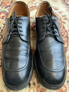 Vtg Red Wing 9335 Black Leather Derby Apron Shoes Men's Size 10 A Made In USA