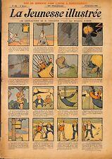 """"""" LA JEUNESSE ILLUSTREE """" PERIODIQUE BENJAMIN RABIER BAKER COIFFEUR GEANTS 1906"""