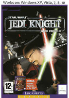 Star Wars Jedi Knight Dark Forces II 2 + Mysteries of the Sith PC Game