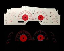 Red Reverse Instrument Glow Gauge Face For 99-02 Ford F150 Expedition Navigator
