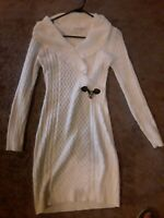 Calvin klein sweater dress small