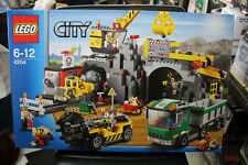 """LEGO  CITY  THE MINE  """"GOLD MINE""""    #4204  UNOPENED  AS NEW   CRANE TRUCK"""