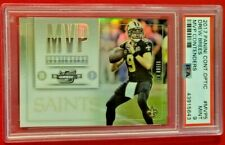 Drew Brees 2017 Panini Contender Optic MVP Contende SP /99 PSA 9 MT Saints! POP1
