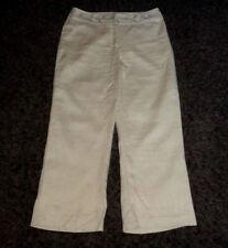 Topshop Wide Leg Linen Trousers for Women