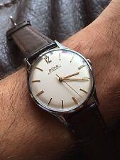 1960s Doxa Swiss Mens Dress Watch 34,9mm Case