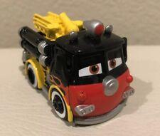 Disney Pixar CARS Retired mini adventures Race Roads Red Flames Fire Truck
