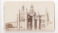 Vintage CDV  the Charterhouse (or Certosa) of Pavia Lombardy Italy