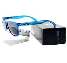 Oakley 24-250 FROGSKINS Acid Blue Frame Grey Lens Mens Sunglasses Rare