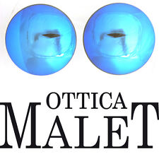 LENTI RICAMBIO RAY BAN 70mm SPECCHIO BLUE MIRROR UNCUT LENSES SAGOMARE SHAPE