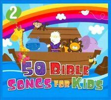 50 BIBLE SONGS FOR KIDS (2 Audio CD Set) Christian Children's Music for the Car