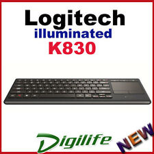 Logitech Illuminated Living-Room HTPC Keyboard K830 Unifying USB and Bluetooth