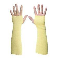 "1 PAIR Heat & Cut Resistant Kevlar Arm Protection Sleeve 14"" Thumb Hole"