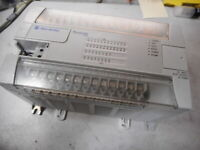 ALLEN BRADLEY MICROLOGIX1200 -- 24 Input 16 Relay/FET  2 x Comms  - 1762-L40BXBR