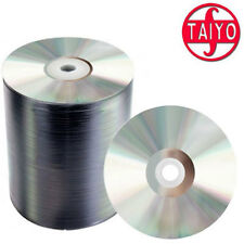 Taiyo Yuden DVD-R Rohlinge Archival Shiny Silver 4.7 GB - 16x 100 Stück Shrink