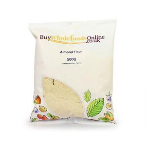 Almond Flour (Ground Almonds) 500g   Keto   Free UK Mainland P&P