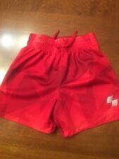 Infant Boys Children's Place Sport Red Shorts-Size 12-28 Months
