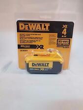 DeWalt 20V MAX Premium XR 4.0 Mah Lithium Ion Battery Pack In Package DCB204