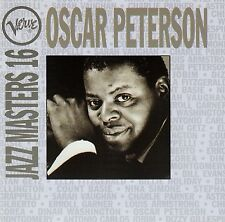 OSCAR PETERSON : VERVE JAZZ MASTERS 16 / CD - TOP-ZUSTAND