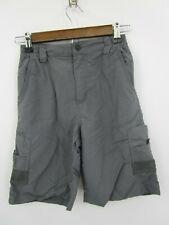 Magellan Fish Gear Mag Repel Boy's Grey Outdoor Fishing Hiking Shorts Size L