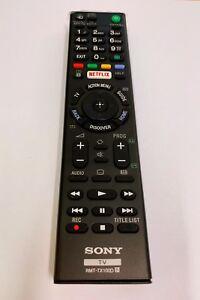 SONY REMOTE CONTROL RMT-TX100D / RMT-TX100A FOR KDL KDL-55W800C, KDL65W850C,