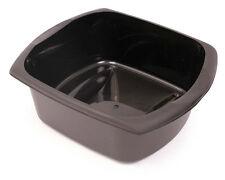 Addis Rectangular Washing Up Dish Bowl - 9.5L - Black - FREE P&P