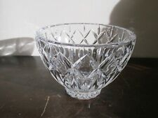 """Waterford  Crystal  4.5"""" Candy Nut Sauce Bowl Dish Signed Mint"""