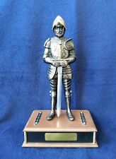 Standing Knight with Sword Novelty Transistor Radio Japan Heritage Works Armor