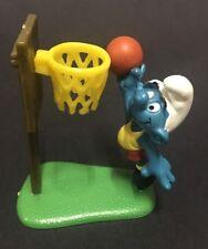 Vintage Smurfs 1980 - Smurf Basketball Set