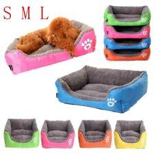 Pet Kennel Nest Mat Pad Blanket Fleece Dog Warm Cat Bed Puppy Cushion House